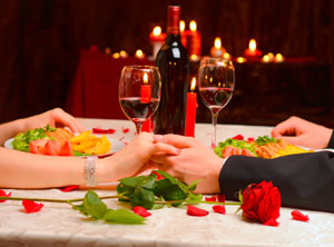 Spa and Romantic Dinner for two