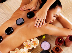 MASSAGE WITH HOT STONES  oferta kunu