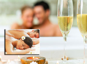 Massage in Couple + Private Access to  Spa (Sunday to Thursday)