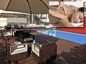RELAXING MASSAGE AND ACCESS OUTDOOR SWIMMING POOL oferta kunu
